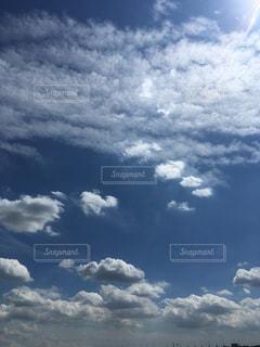 青い空に雲 - No.736730