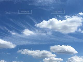青い空に雲 - No.736731