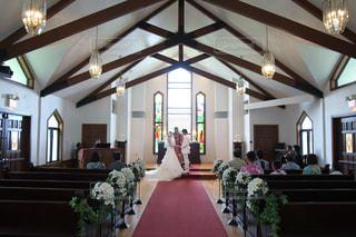 ハワイの小さなチャペルで結婚式 - No.740496