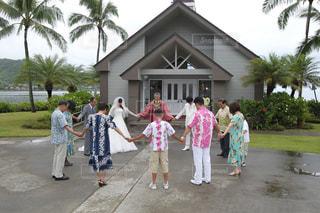 ハワイで伝統の結婚式 - No.740512