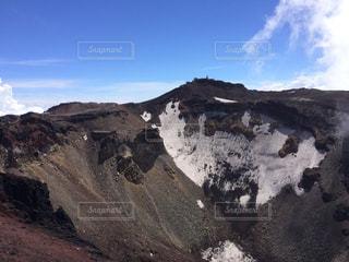 富士山の噴火口 - No.736430