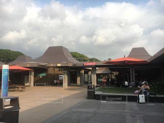 コナ国際空港にての写真・画像素材[736766]