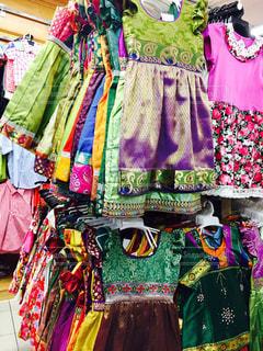 インドのこども服 シンガポールで撮影の写真・画像素材[737615]