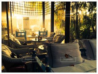 ドバイのアラビアンカフェの写真・画像素材[737924]