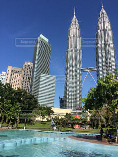 マレーシア ツインタワーの写真・画像素材[740851]
