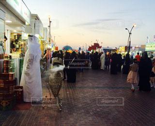 テーマパークのアラブ人の写真・画像素材[740884]