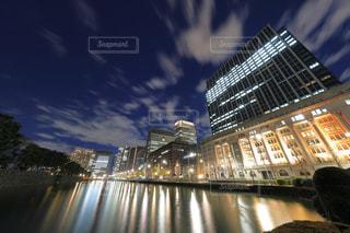日比谷通り馬場先門から見たオフィスビルの写真・画像素材[944802]