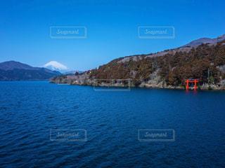 富士山と芦ノ湖の写真・画像素材[1778299]