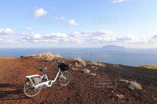三宅島山頂付近からの眺めの写真・画像素材[1778327]