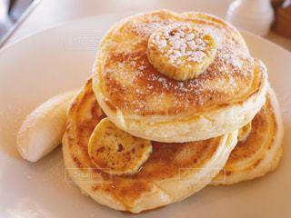 朝食のパンケーキの写真・画像素材[1785158]