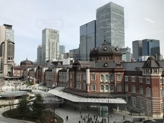 東京駅 丸の内口の写真・画像素材[1790454]