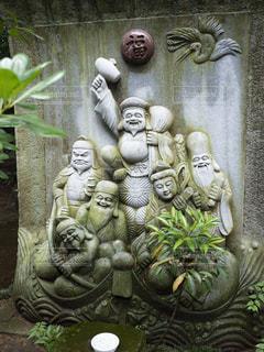 七福神の石碑の写真・画像素材[1795932]