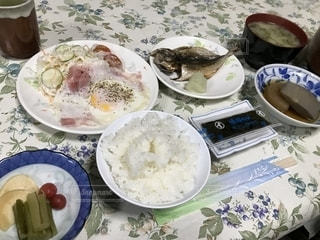 日本の朝食の写真・画像素材[1807391]