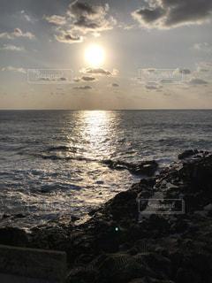 三宅島からの朝日の写真・画像素材[1808853]