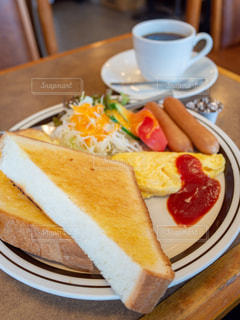 喫茶店の朝食の写真・画像素材[1814664]