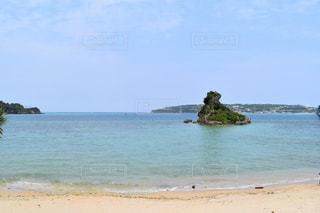 古宇利島の海の写真・画像素材[737450]
