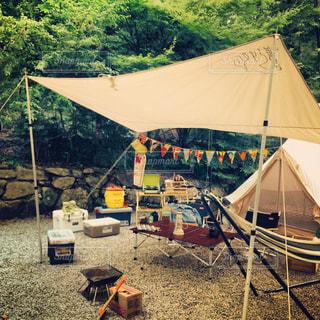 キャンプの写真・画像素材[1026620]