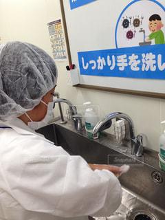 きちんと手洗いの写真・画像素材[792426]