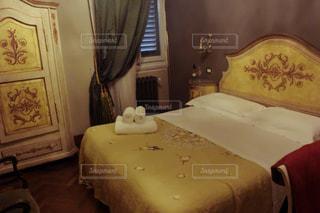 ベッドルームの写真・画像素材[744280]
