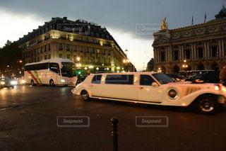 パリの通りの写真・画像素材[750128]