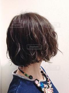 私の髪型の写真・画像素材[874952]