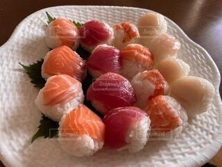 手まり寿司の写真・画像素材[3791943]