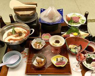 旅館の宴会料理の写真・画像素材[885904]