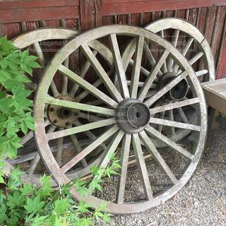 ただの車輪の写真・画像素材[739912]