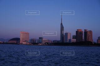 福岡シーサイドももちマリゾン夜景の写真・画像素材[744816]