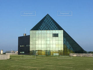 モエレ沼公園のピラミッドの写真・画像素材[739256]