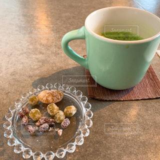 抹茶と甘納豆の写真・画像素材[1819733]