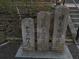 伊香保 石階段の写真・画像素材[740115]