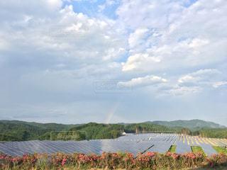 虹と自然エネルギー - No.745527