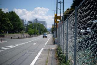 街の通りのビューの写真・画像素材[1222192]