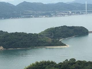 山頂からの風景の写真・画像素材[1028810]