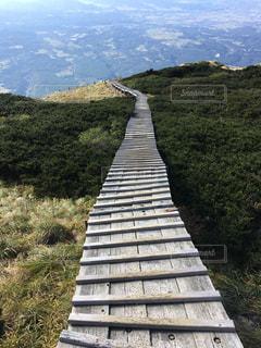 山の回廊の写真・画像素材[1028815]
