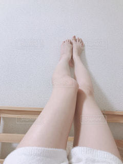 細い脚の写真・画像素材[2816823]