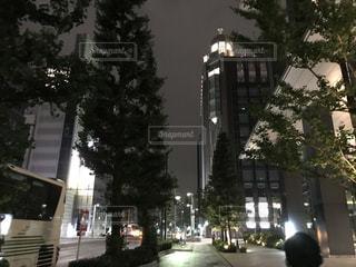 街の通りのビューの写真・画像素材[742142]