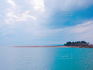 水の大きな体の写真・画像素材[743728]