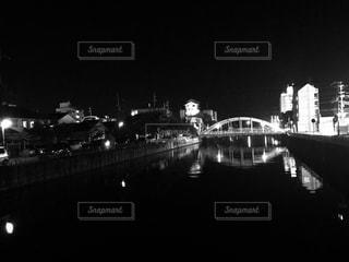橋の夜空の写真・画像素材[767724]