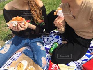 夏のピクニックの写真・画像素材[862329]