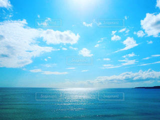 海のキラキラの写真・画像素材[742689]