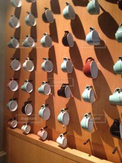 カフェのディスプレイの写真・画像素材[742968]