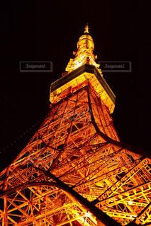 東京タワーのライトアップ - No.743135