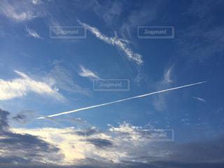 空には雲のグループの写真・画像素材[742800]