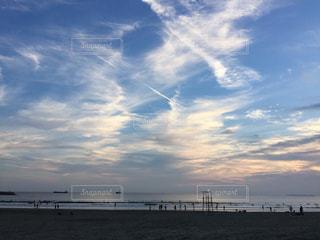 空には雲のグループの写真・画像素材[742824]