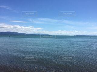 湖の写真・画像素材[742847]