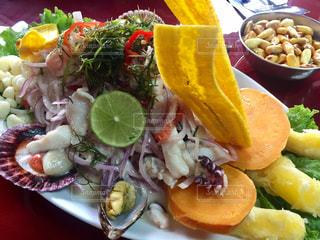 南米料理セビーチェの写真・画像素材[743001]