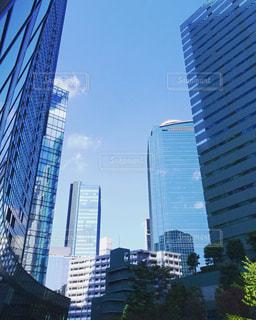 高層ビルの都市の景色の写真・画像素材[742806]