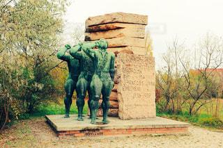 ハンガリー、ブダペストの共産主義彫刻の写真・画像素材[1007497]